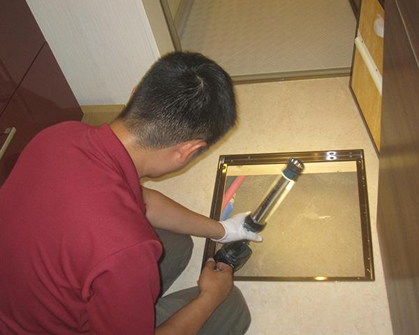 ホームインスペクション(床下点検口から目視確認)