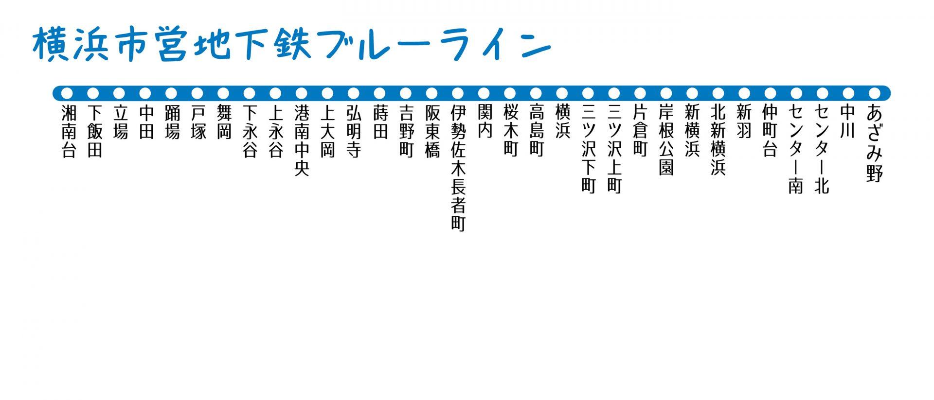 【横浜市営地下鉄ブルーライン】地盤災害ドクターの「災害低リスク」推しステーション