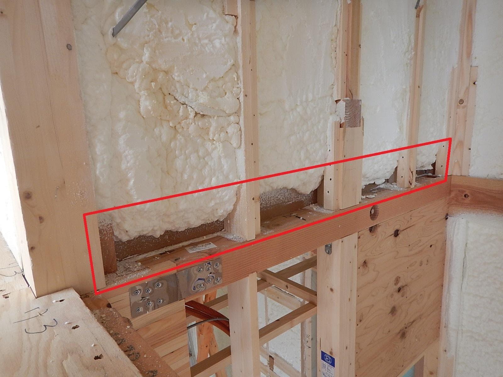 新築一戸建て工事中に発覚した不具合