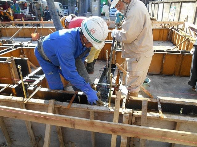 新築一戸建て工事中のチェックポイント⑧ コンクリート打設の注意