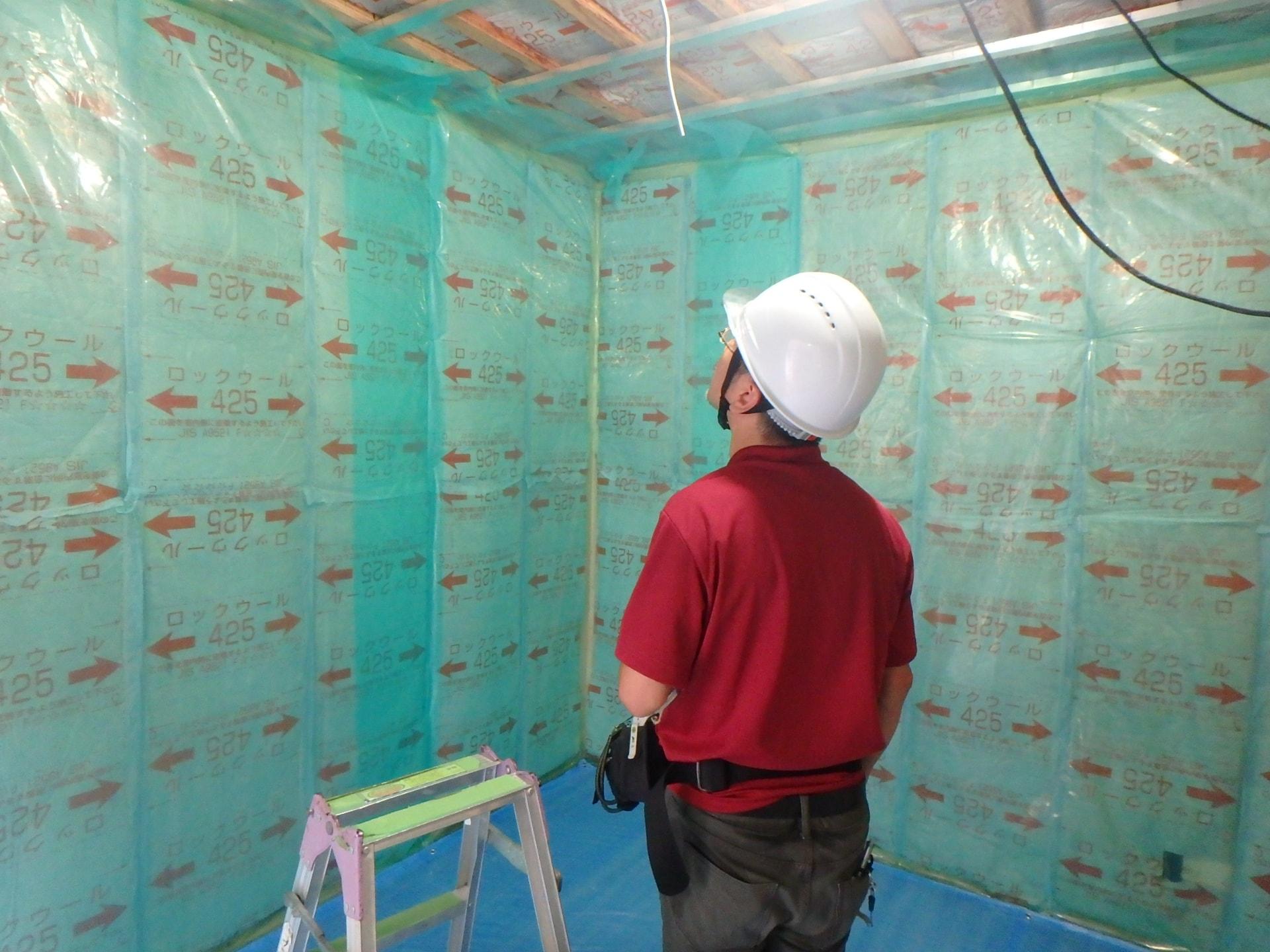 新築一戸建て工事中のチェックポイント⑫ 断熱工事