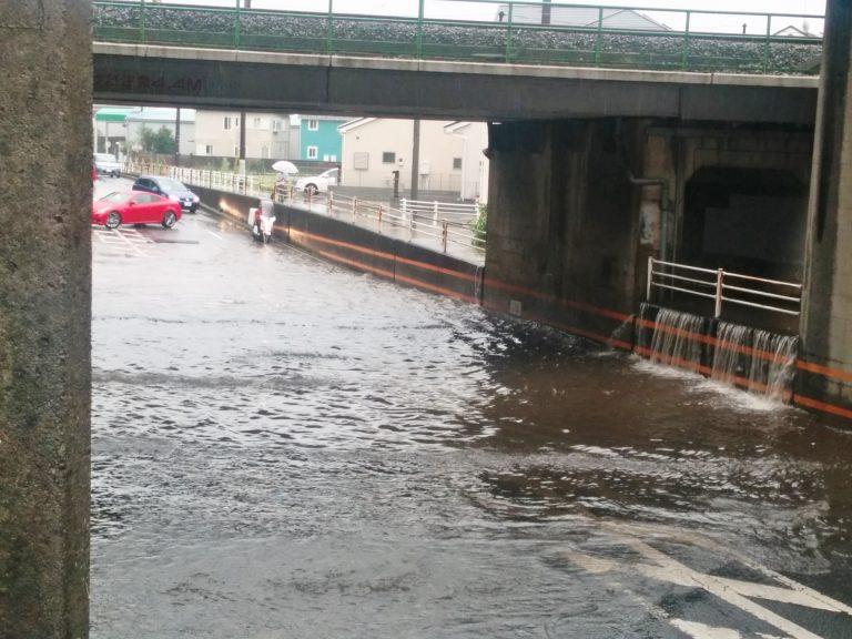 長年住んでいて水害がなかった場所でも、被害が発生する理由