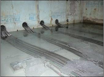 マンション地下ピット水溜り